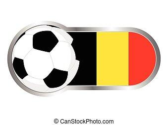 belgium, jelvény, futballcsapat