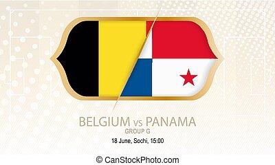 BelgiumVsPanamaGroupGFootballCompetitionSochiOn