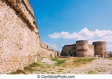 belgorod-dniester, region., ukraine, akkerman, forteresse, odessa