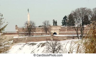Belgrade, fortress - Belgrade, Kalemegdan, fortress in...