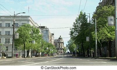 Belgrade - Kneza Milosa street