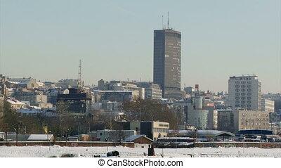 Belgrade, Landmarks, Skyscraper - Belgrade, Landmarks,...