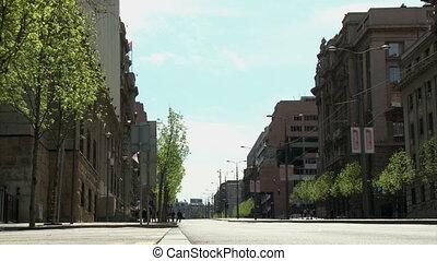 Belgrade, Nemanjina street - Belgrade, street, government...