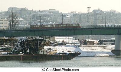 Belgrade, Serbia, bridge