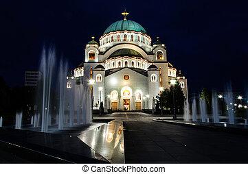 Belgrade tample - Tample of the Saint Sava in Belgrade, ...