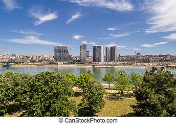 Belgrade Waterfront - new chapter in the city of Belgrade, Serbia.