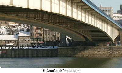 Belgrade, winter, Bridge