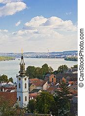 Belgrade Zemun view from Gardos