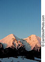 Belianske Tatry (Belianske Tatras) in winter, Slovakia
