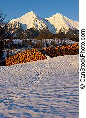 Slovakia - Belianske Tatry in winter, Slovakia