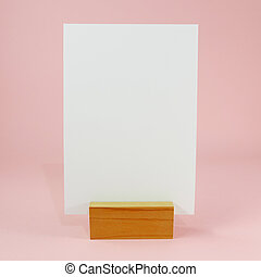 beliggende, menu, blank, card, (1)