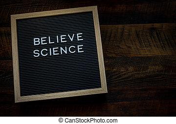 belive, コピースペース, 科学