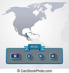Belize info card