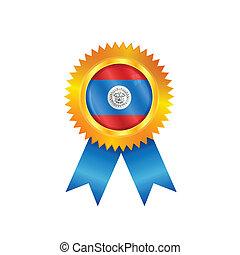 Belize medal flag
