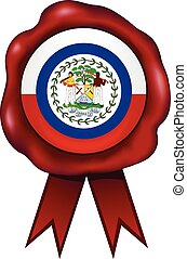 Belize Wax Seal - Belize wax seal.