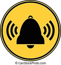 Bell button.
