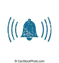 Bell grunge icon