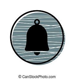 Bell icon vector illustration
