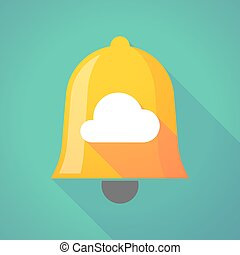 Bell icon with a cloud