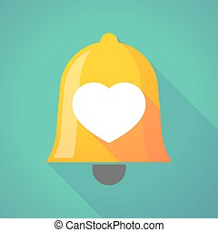 Bell icon with a heart
