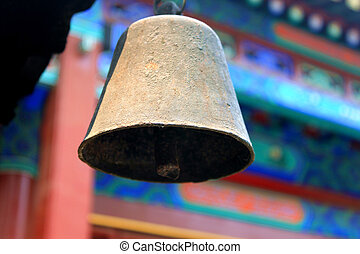 bell in the Chinese temple