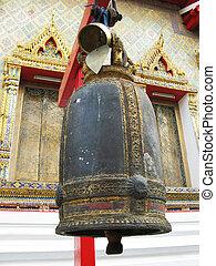 Bell in Wat Po temple