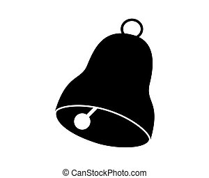 Bell isolated on white