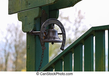 Bell on the gate