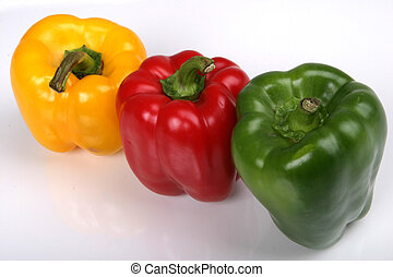 Bell Pepper Group - Group of Bell Peppers