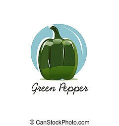 bell pepper illustration