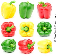 bell pepper in various forms.