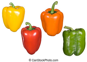 Bell pepper montage