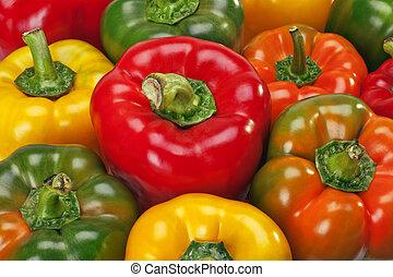 Bell Pepper - Multi-Colors Red Pepper