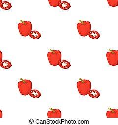 Bell pepper.BBQ single icon in cartoon style vector symbol stock illustration web.