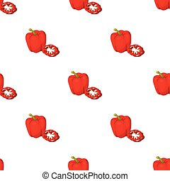 Bell pepper.BBQ single icon in cartoon style vector symbol stock illustration web.