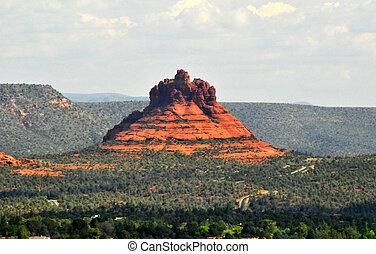 Bell Shape Red Rocks in Sedona Arizona
