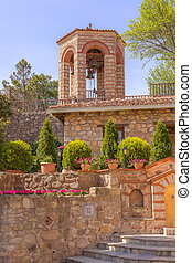Bell tower at Great Meteoron Monastery, Greece - Bell tower ...