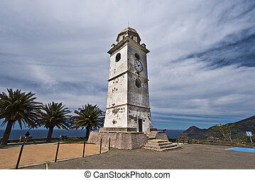 Bell tower in Canari village of Cap Corse Peninsula - Old ...