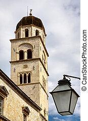 Bell tower in Dubrovnik