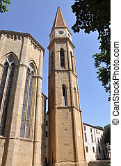 Bell tower of Arezzo Cathedral