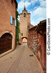 Bell tower of Roussillon, France