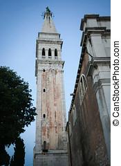 Bell tower of Saint Euphemia church