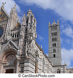 Bell Tower of Siena Cathedral - Italy