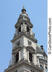 Bell tower of St. Stephen Basilica