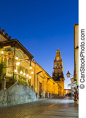 Bell Tower of the Mezquita Cathedral, Cordoba, Spain