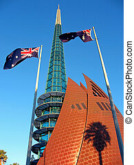 Bell Tower, Perth - Bell Tower is a modern, famous landmark ...