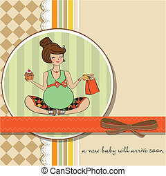 bella donna, incinta