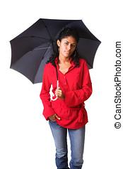 bella donna, ombrello