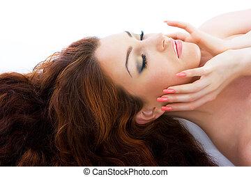 bella donna, rosso-dai capelli