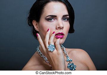 bella donna, sofisticato